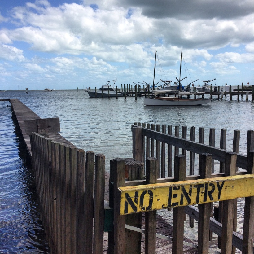 Barnacle State Park dock.